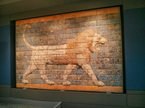 picture of Babylonian lion