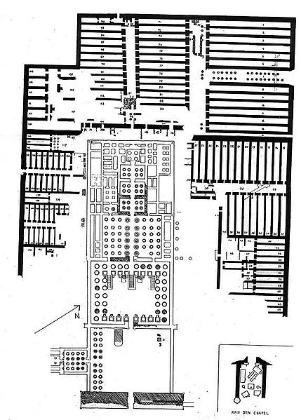 plan of the Ramesseum